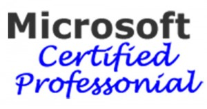 Perry's Computer repair, Microsoft Certified Professional